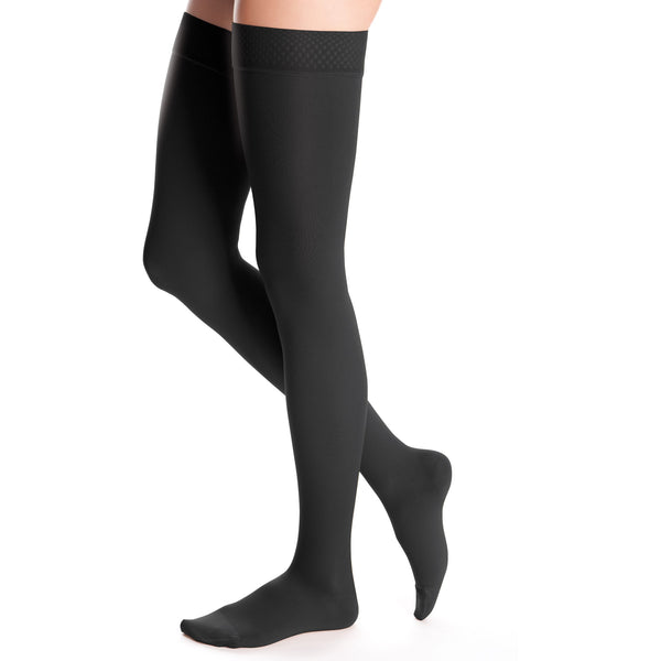duomed advantage, 30-40 mmHg, Thigh High, Closed Toe