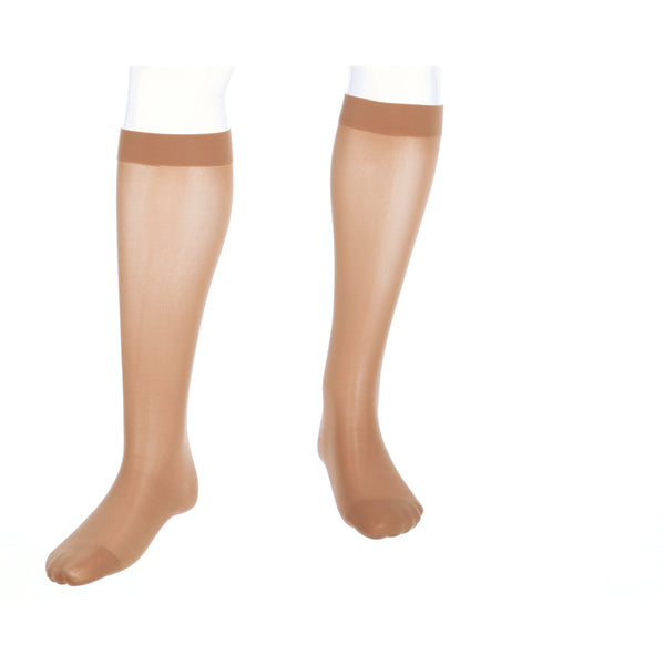 medi assure, 20-30 mmHg, Calf High, Closed Toe