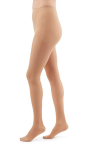 duomed transparent 20-30 mmHg panty closed toe petite