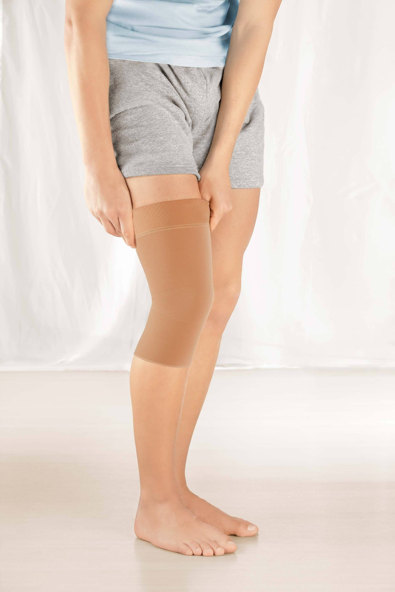 protect.seamless knit knee support
