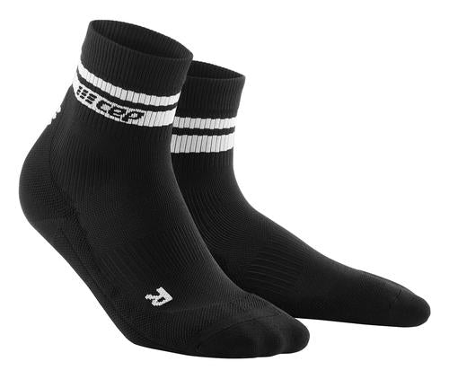 80s Compression Mid Cut Socks for Women