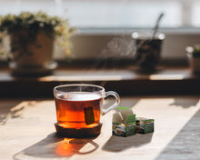 Load image into Gallery viewer, Lightload Puer Tea clear tea compressed brick in glass coffee cup-lightload Tea