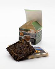 Load image into Gallery viewer, lightload puer tea compressed tea bricks showing the loose leaf-lightload tea