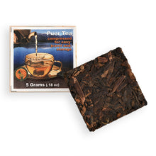 Load image into Gallery viewer, Lightload Puer Tea compressed tea leaf with label-lightload Tea