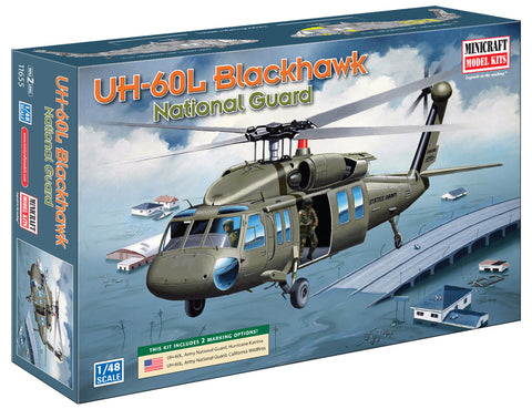 11655 1/48 UH-60L National Guard ANG w/2 options