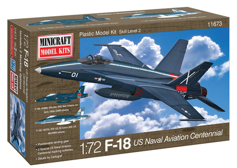 11673 1/72 F-18 Centennial USN Aviation w/2 options