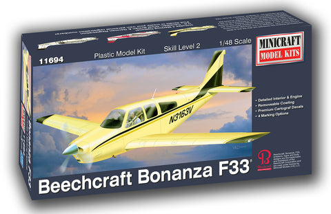 11694  1/48 Beechcraft Bonanza F-33   (Display Base)
