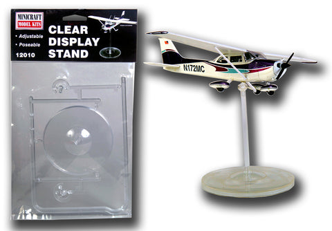 12010 Clear Display Stand