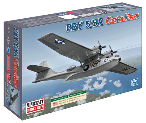 14622 1/144 PBY 5A Catalina USN w/2 options