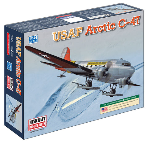 14671 1/144 Arctic R4D USAF w/2 options