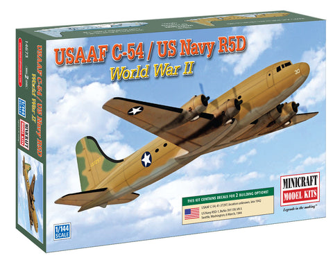 14673 1/144 WW2 C-54 USAAF & USN w/2 options