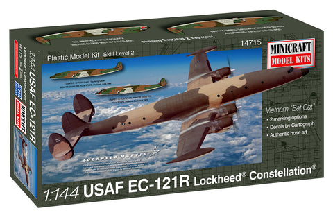 "14715 1/144 USAF  EC-121R Lockheed® Constellation®  Vietnam ""Bat Cat"""