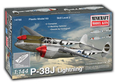 14730 1/144 P-38J Lightning (Pre-Painted Canopy)