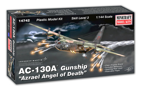 "14742 1/144 AC-130A Gunship  ""Azrael Angel Of Death"""