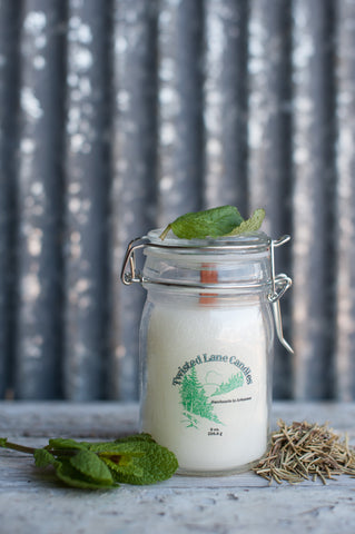 Rosemary and Mint Candle
