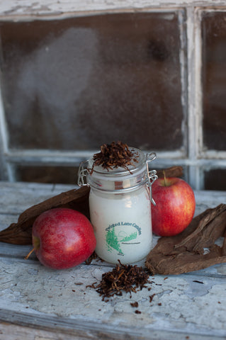 Pipe Tobacco and Apple Candle