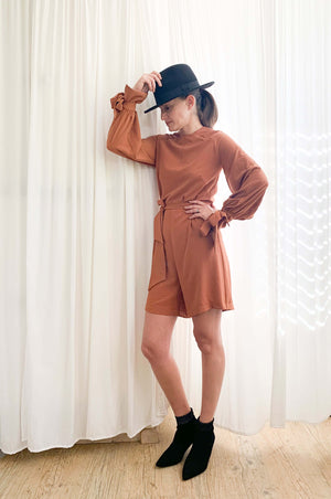 Jackson jumpsuit | DESERT BROWN