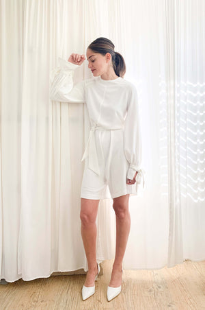 Jackson jumpsuit | WHITE