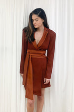 Miley dress | DESERT BROWN