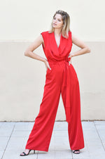 Rome jumpsuit | RED