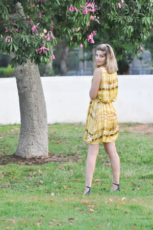 Nice dress | YELLOW