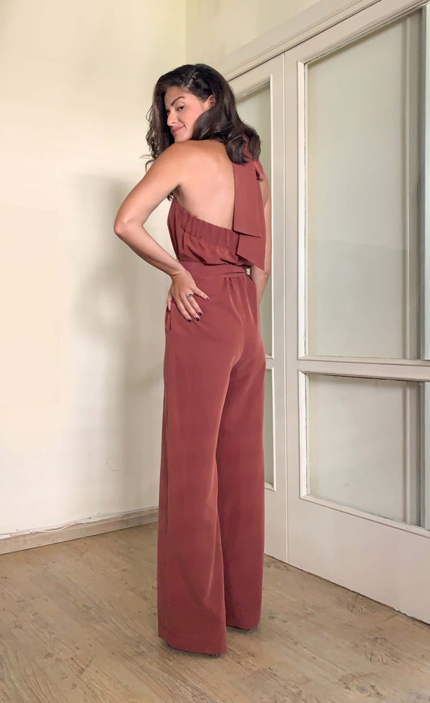 Monaco jumpsuit | DESERT  BROWN