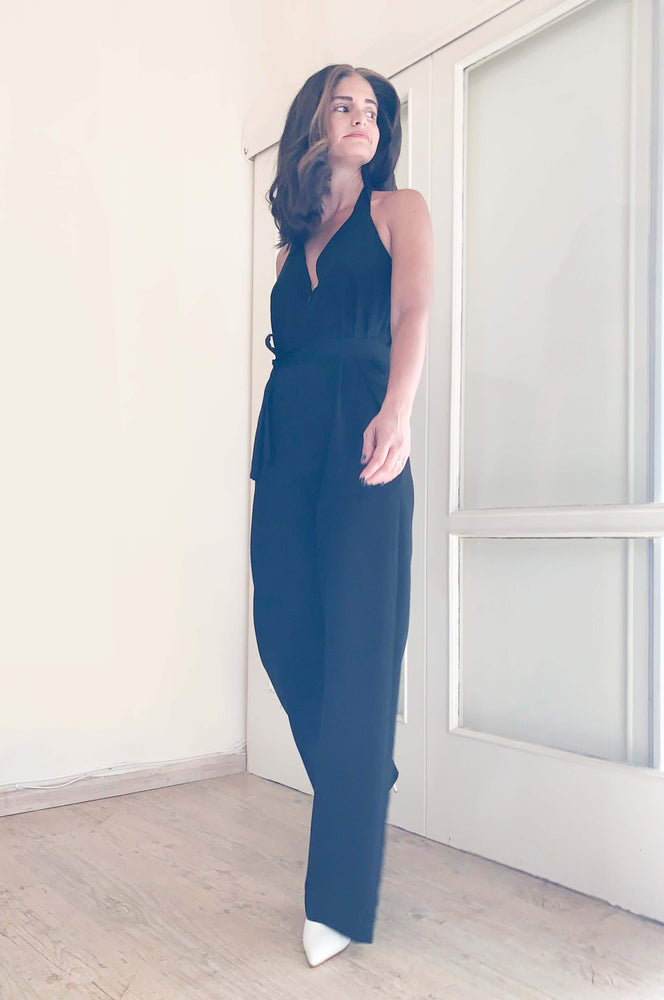 Monaco jumpsuit | BLACK