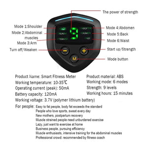 6 Mode Arms Electric Muscle Stimulator
