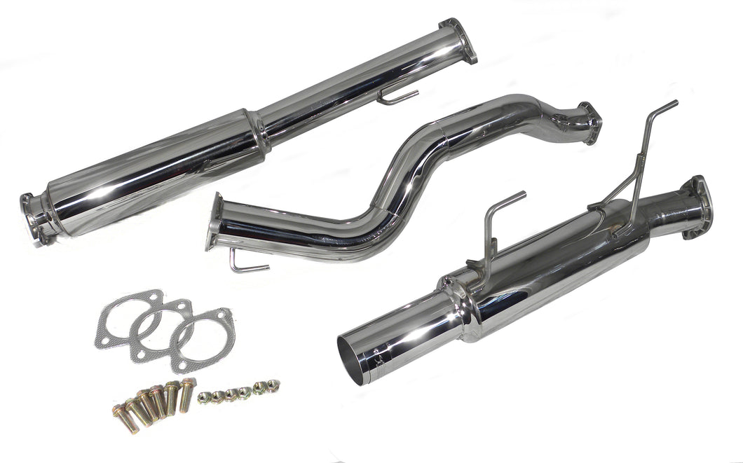 SES1902 - Injen Technology Stainless Steel Cat-Back Exhaust System