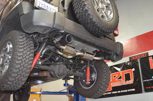 SES5004BLK - Injen Technology Stainless Steel Axle-Back Exhaust System