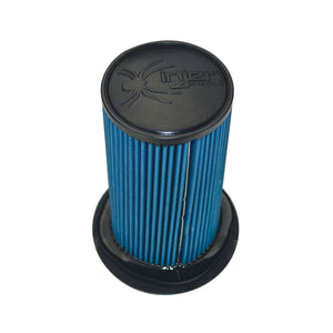 Injen SuperNano-Web Dry Air Filter With Twist Lock Base Part No. X-1114-BB