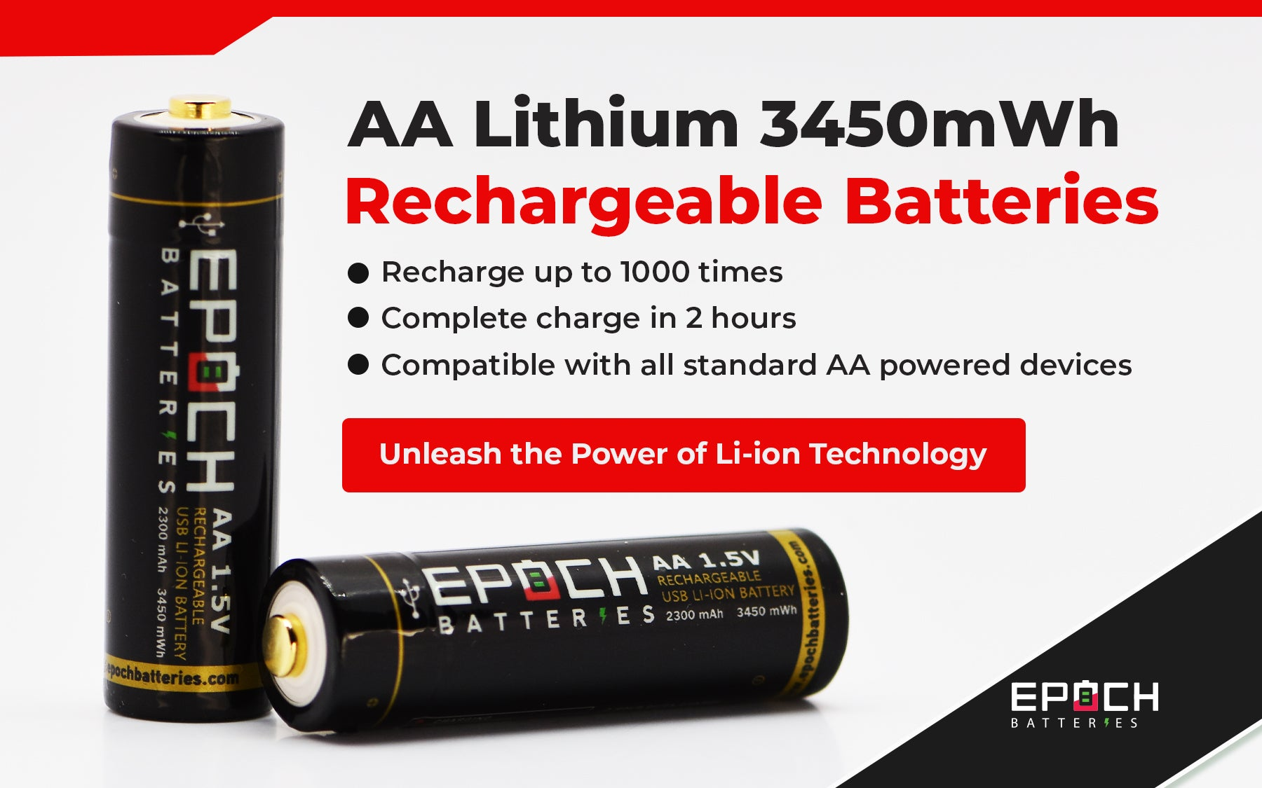 Epoch AA USB Rechargeable battery