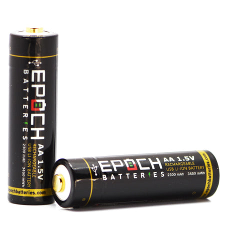 Epoch AA 1.5V 2300mAh USB Rechargeable Battery