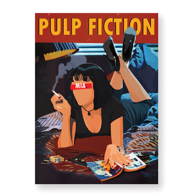 Affiche Pulp Fiction - Hugoloppi