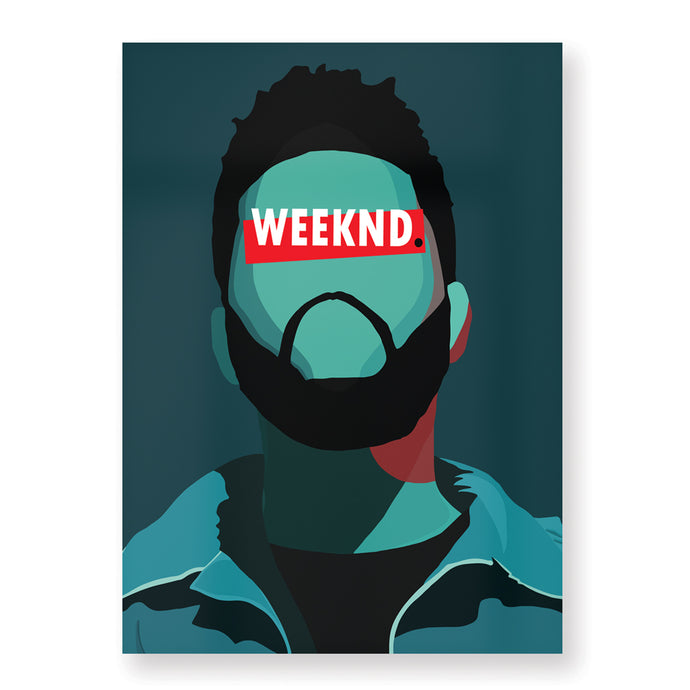 Affiche The Weeknd - Hugoloppi