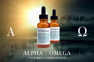 Alpha | Omega - Start to Finish CBD Oil Bundle - Premium Isolate - Seropian Ltd