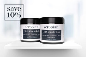 Seropian CBD Muscle Rub (350mg CBD) Duo Bundle - Save 10% - Seropian Ltd