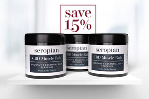 Seropian CBD Muscle Rub (350mg CBD) Trio Bundle - Save 15% - Seropian Ltd