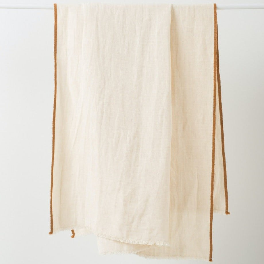 Austen Linen Cotton Throw