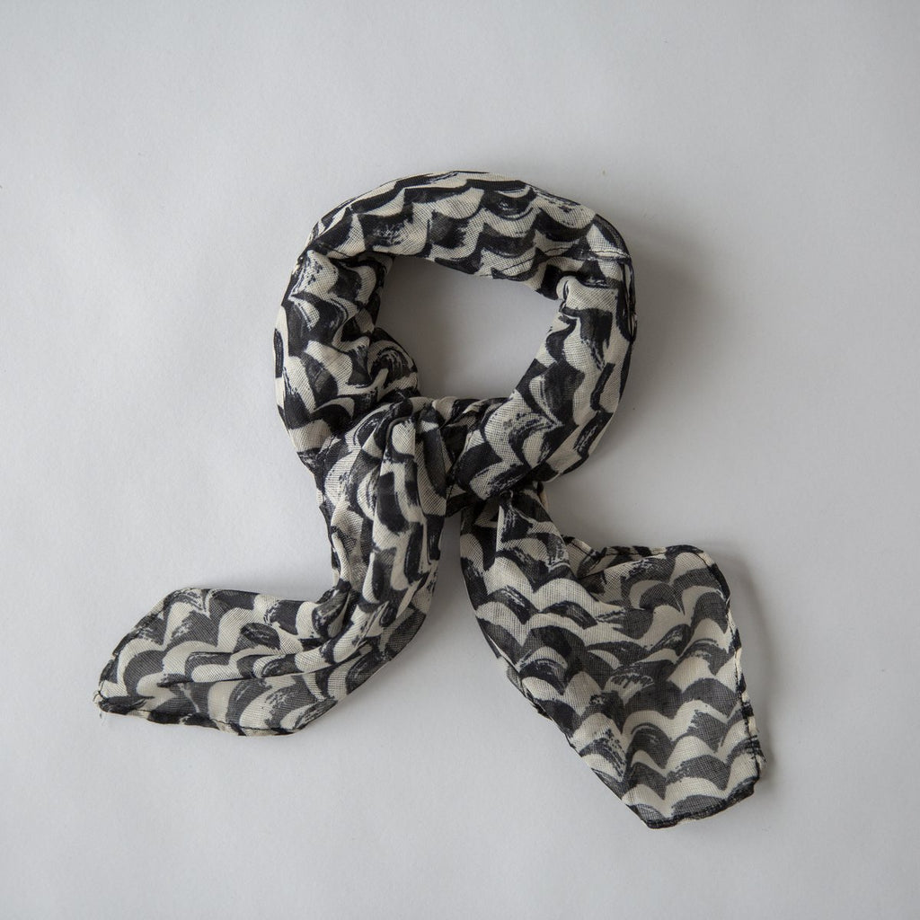 Waves Mini Scarf - Sand