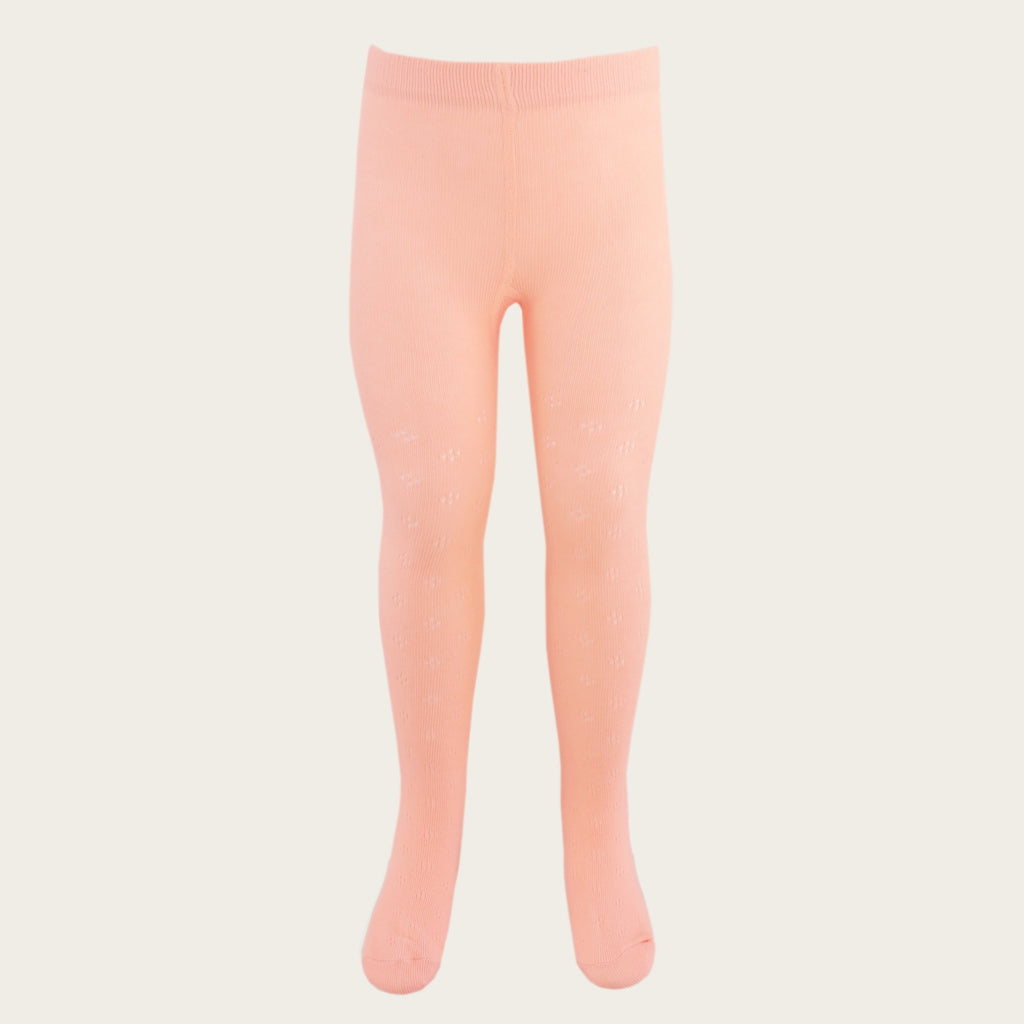 Pointelle Tight - Melon