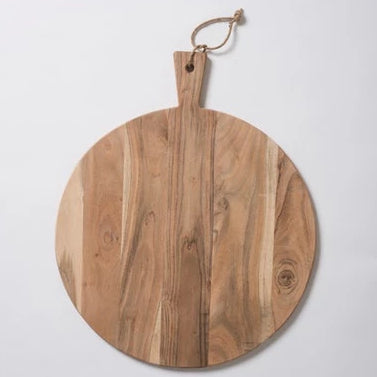 Acacia Round Chopping Board -  L