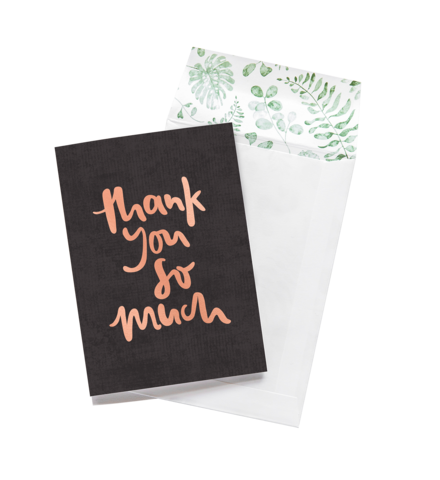 Thank You So Much - Greeting Card