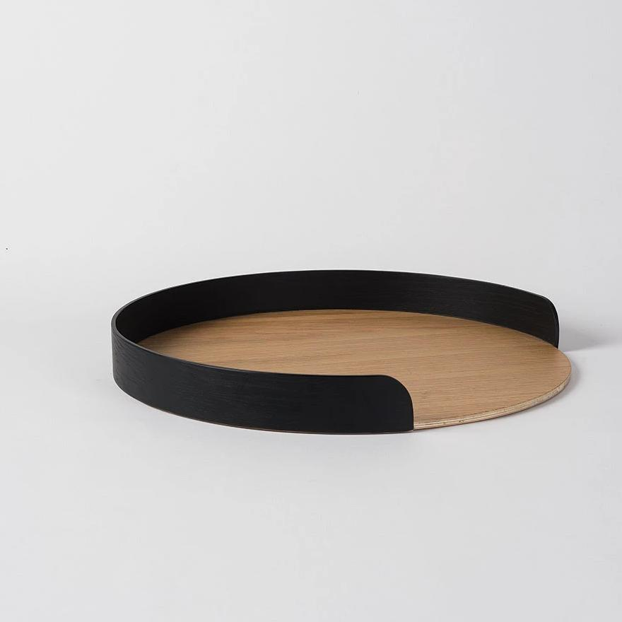 Segment Tray Black/Natural - Large
