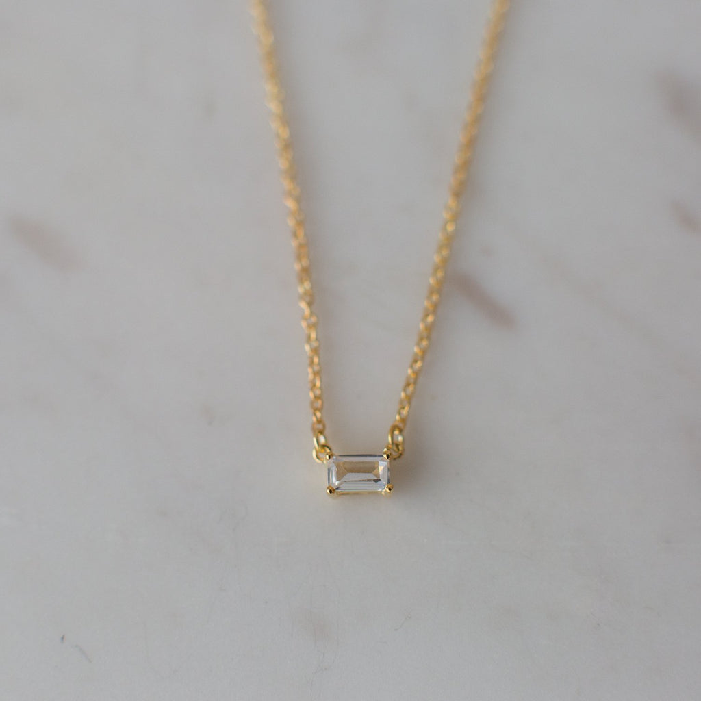 You Rock Necklace - 14kt Gold Plated