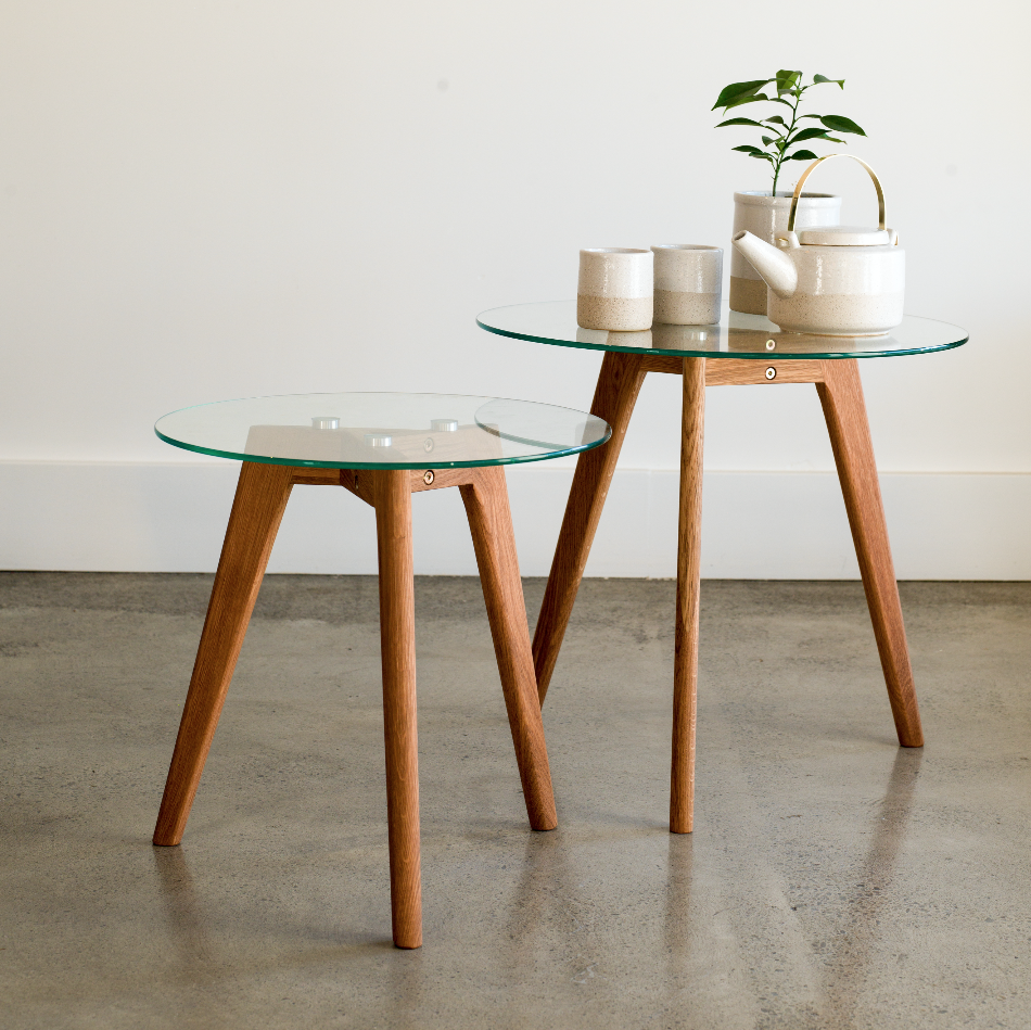 Cindy Oak Table - Small