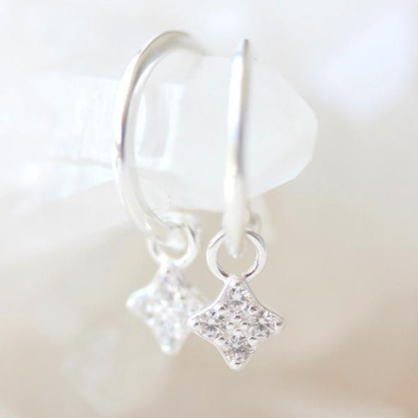 Clover Hoops | Silver