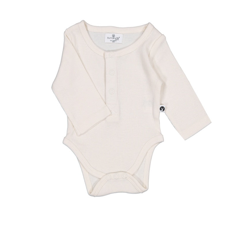 Rib Bodysuit - Natural