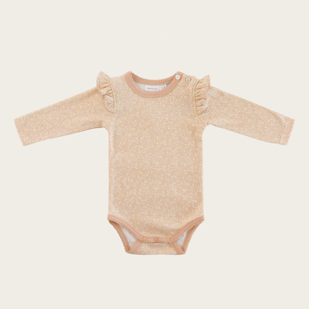 Frill Bodysuit - Meadow Floral