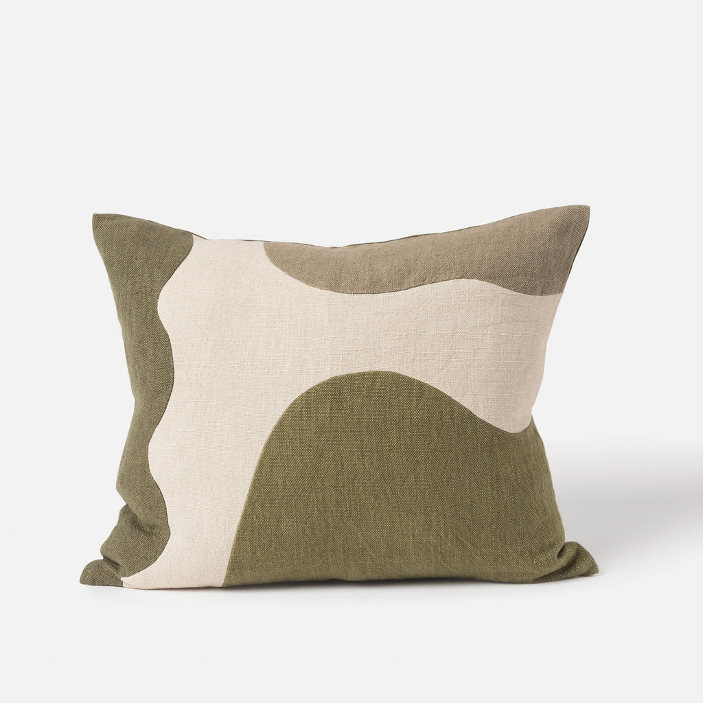Hillside Patchwork Cushion Cover + Inner